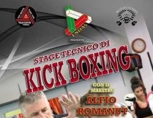 STAGE TECNICO KICK BOXING