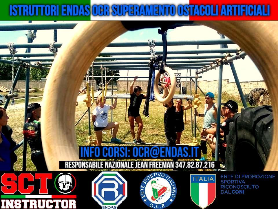 CORSI PER ISTRUTTORI DI SUPERAMENTO OSTACOLI ARTIFICIALI IN CIRCUITI DI EVASIONE O.C.R.